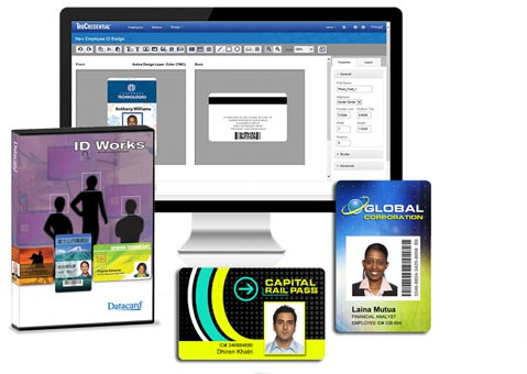 Software Datacard ID-Works